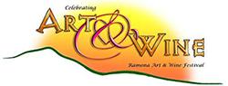 Ramona Art & Wine Fest Logo